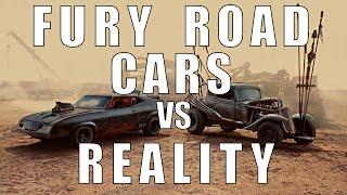 Fury Road Cars vs REALITY