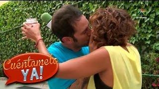 Famosos demuestran qué tan buenos besadores son | Cuéntamelo YA!