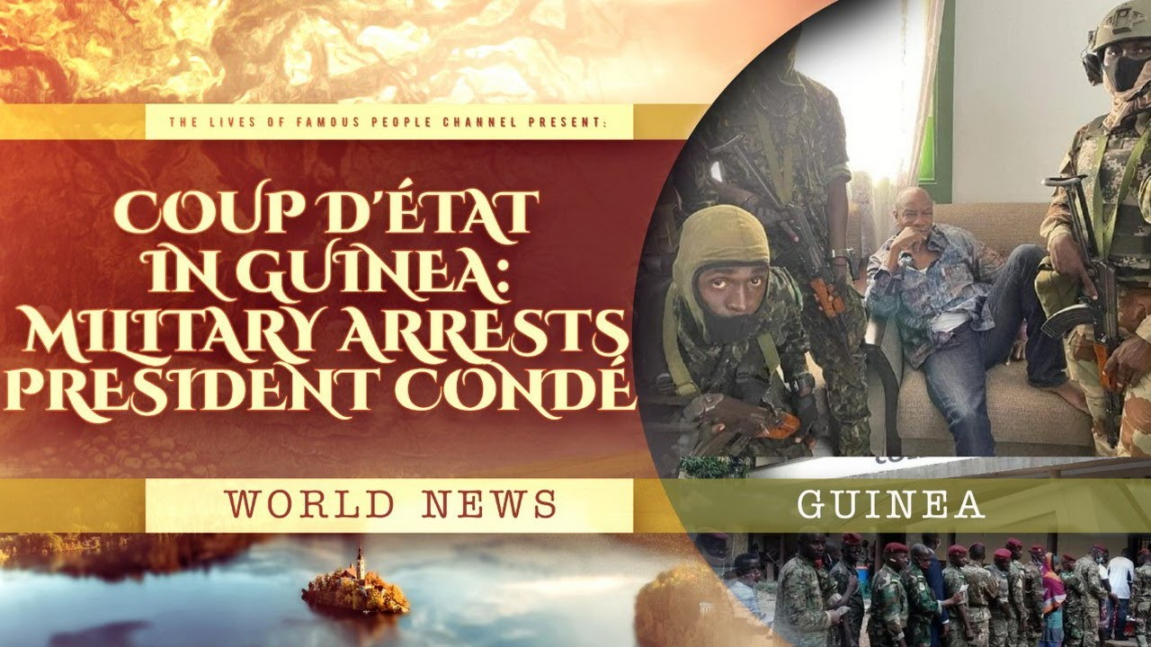 After Reports Of Gunfire In Guinea, Army Colonel Says Government ...