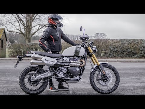 Triumph Scrambler 1200 XE First Ride   Review