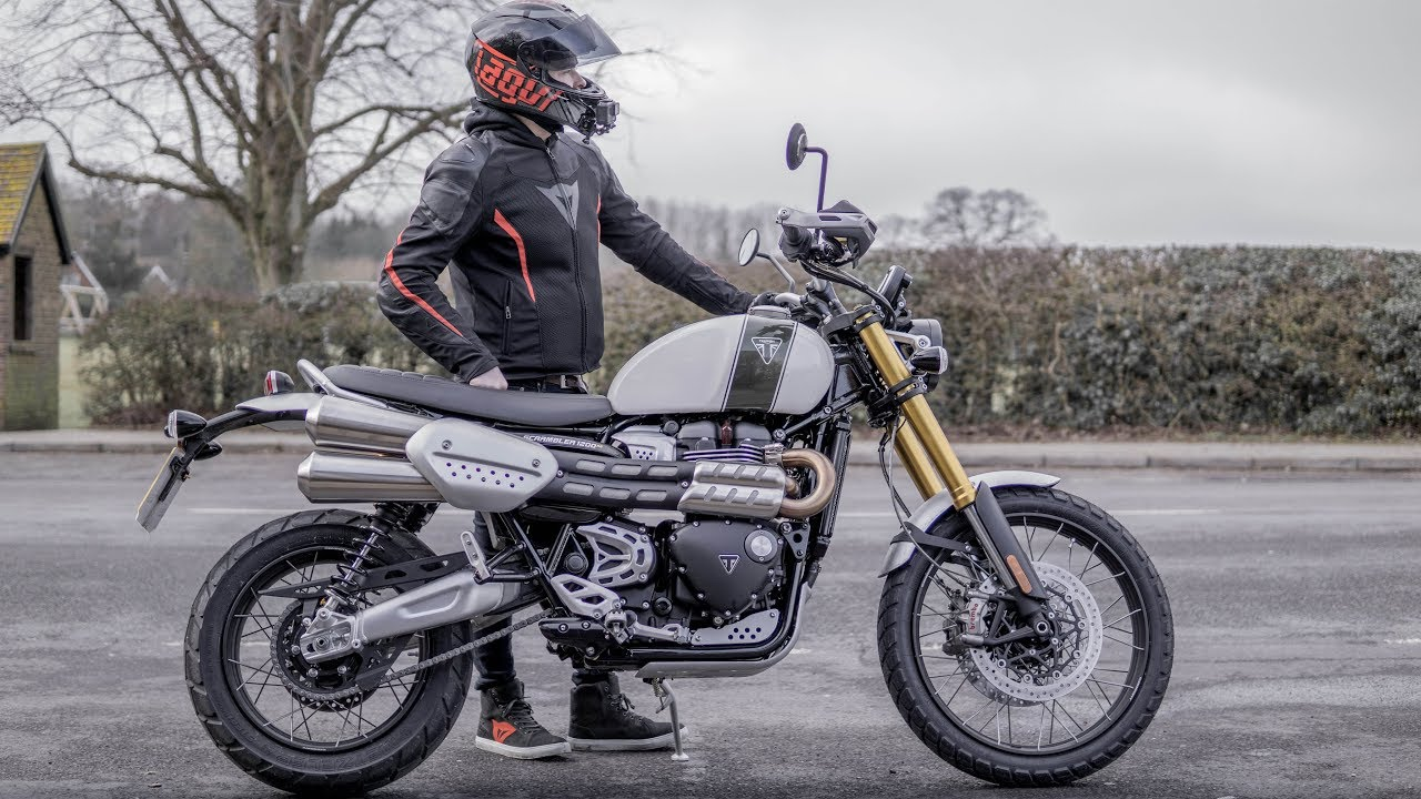 Triumph Scrambler 1200 Xe First Ride Review Youtube