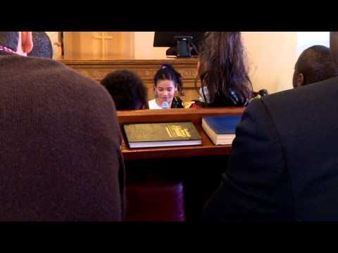 Children's Story - Aberdeen SDA Church - April 2013