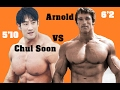 BEST BODYBUILDER IN THE WORLD ARNOLD SCHWARZENEGGER VS CHUL SOON