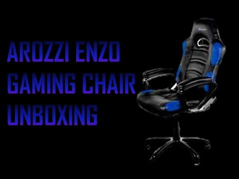 Enzo Gaming Chair By Arozzi (Unboxing And Assembling)