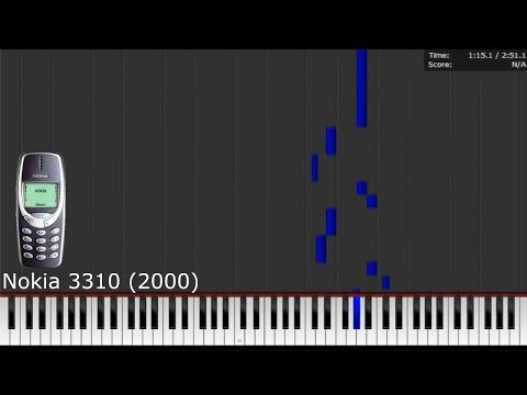 Dark MIDI - NOKIA TUNE (with history!)