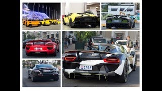 Supercars in Monaco Summer 2018 DAY 7