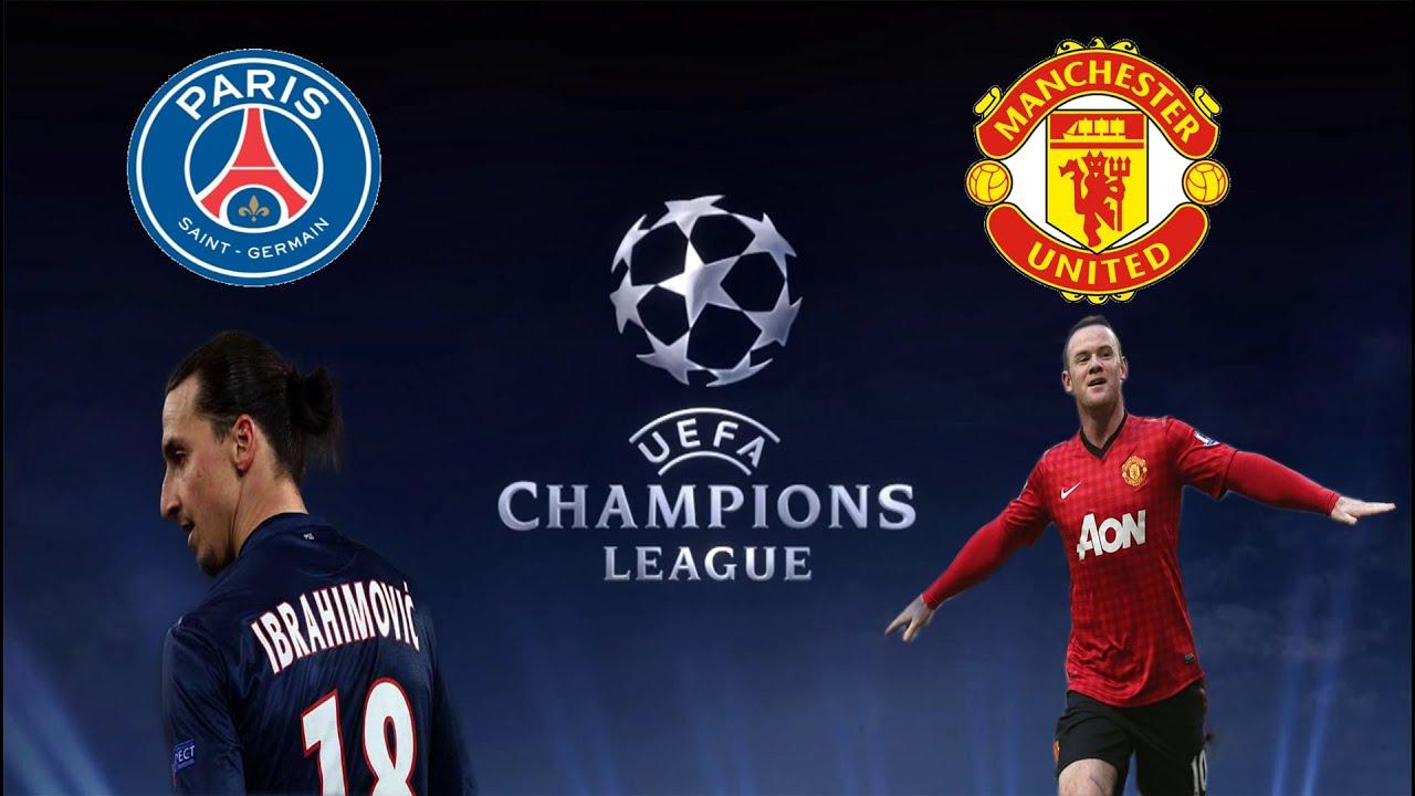 Man United Vs Psg: Manchester United VS PSG