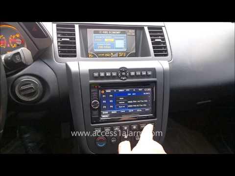 2003 - 2007 Nissan Murano Kenwood 2 DIN Radio Install