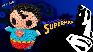 Superman 3D Origami | Pekeño ♥