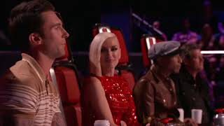 The Voice 2015 Blind Audition   Manny Cabo   Here I Go Again
