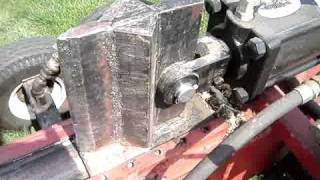 Home Made 34 Ton 8 Hp Hydraulic Log Splitter - Welding Project.  Part 1