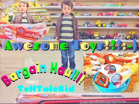 Thomas and Friends , Disney Pixar Cars 3 in 1 Game Center, Bargain haul, Thriftstore shopping