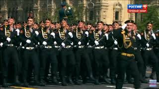61 отдельная Киркенесская Краснознаменная бригада морской пехоты Спутник Парад 2018