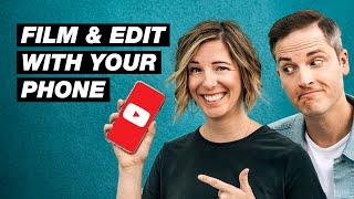 كيفية جعل أشرطة فيديو يوتيوب على الهاتف الخاص بك (البرنامج التعليمي للمبتدئين)