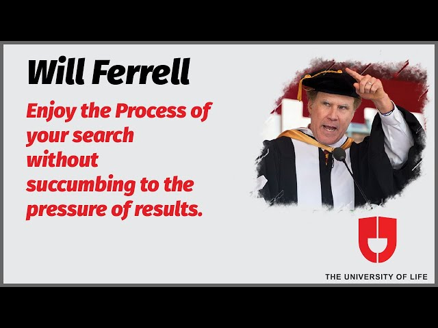 Will Ferrell commencement speech at USC  (highlights) |  The University Of Life