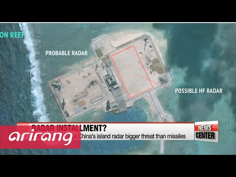 China possibly building high-frequency radar on island: report