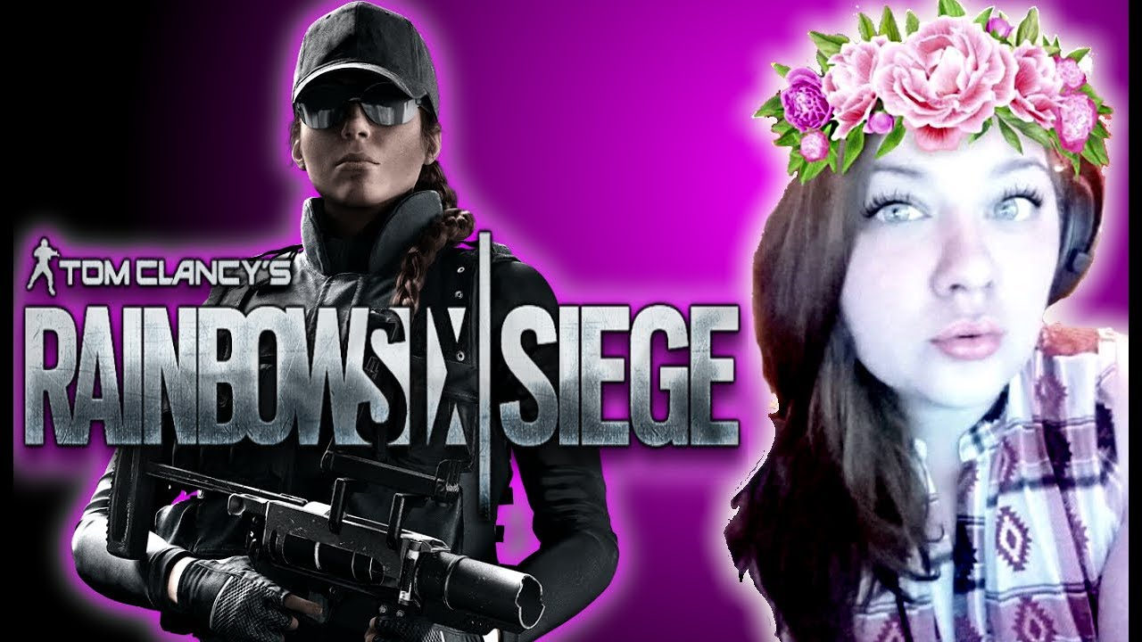 QueenFPS Plays| Rainbow Six Siege (Tryhard Mode Activated) Free