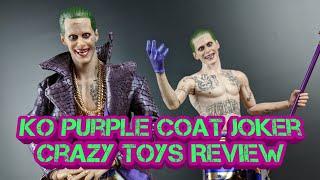 Crazy Toys KO Purple Coat Joker Review