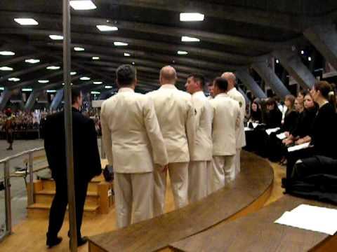 PMI 2010 Lourdes : Ave Maria chanté par le groupe St George (Marine Croate)