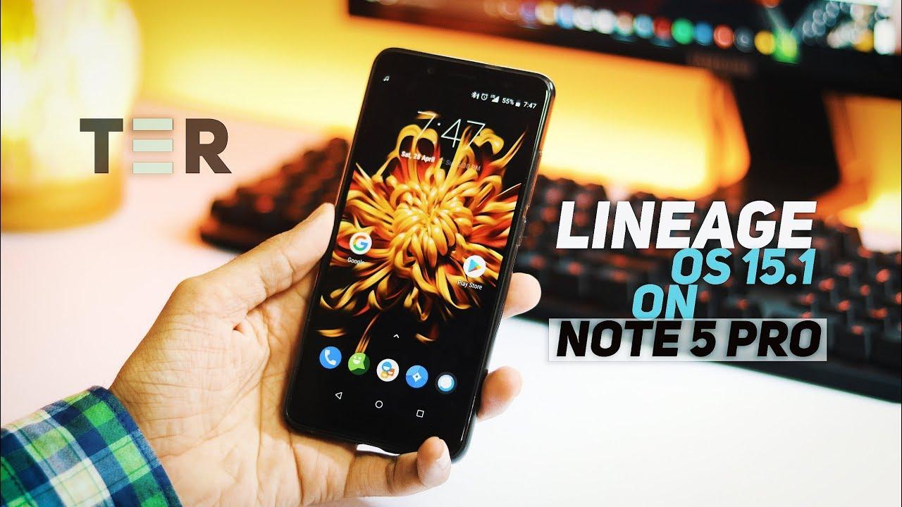 Lineage OS 15 1 [Oreo 8 1] on Xiaomi Redmi Note 5 Pro | Review
