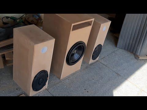 DIY Tower Speaker !! JBL Tower Speaker !!