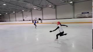 Школа А. Рябинина | IFSS | Прыжки. Фигурное катание. Учим дупель - 2 Аксель. 1 неделя обучения.