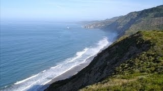 Pacific Ocean Sound of the Surf - Four Hours Ambient Audio - Point Reyes