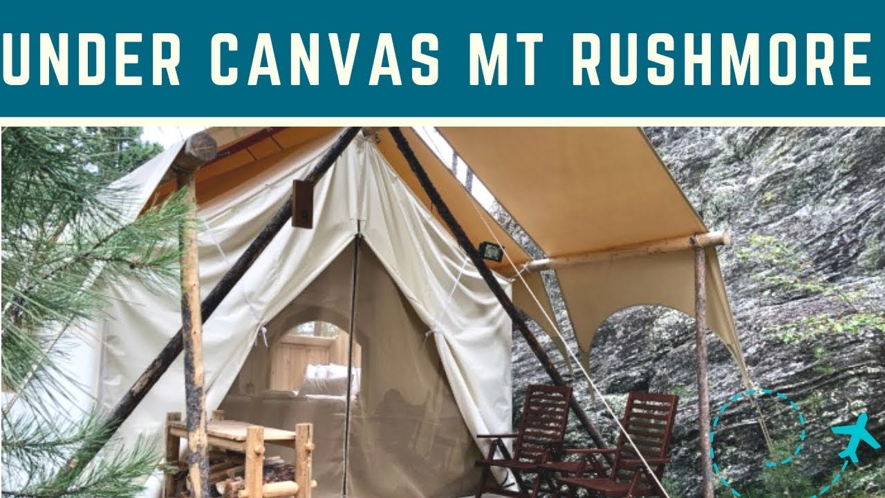 Under Canvas Mount Rushmore Star Gazer Glamping Tent Tour