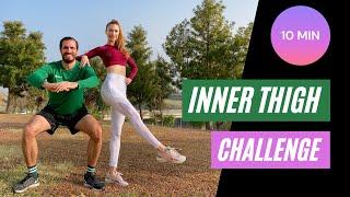 10 min INNER THIGH CHALLENGE | 10 dakikada İç Bacak Sıkılaştırma Challenge | FITINSANE