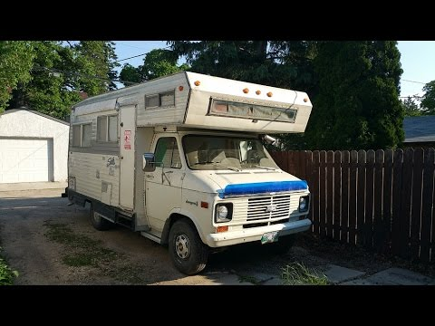 1972 chevy van 30 bug out motorhome with woodstove cold start youtube rh youtube com 1972 condor motorhome for sale 1972 dodge travco motorhome