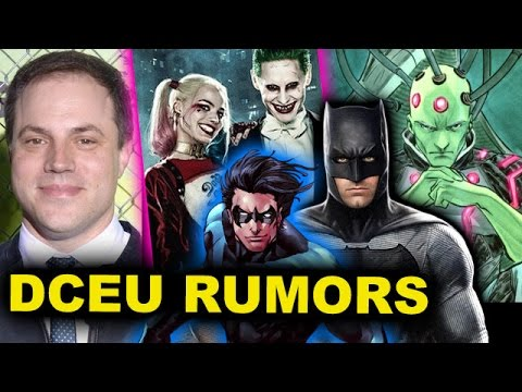 Justice League 2017 Joker & Harley, The Batman 2018, Suicide Squad 2, Man of Steel 2 vs Brainiac