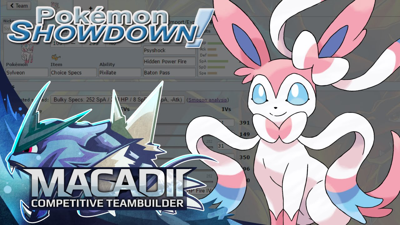 Sylveon Team Builder Pokemon Showdown Uu Team Building W Macadii Smogon Oras Uu Youtube This evolution is obtained when eevee is leveled up with high happiness and knows a fairy type move while in a sunflower plains or flower forest. sylveon team builder pokemon showdown uu team building w macadii smogon oras uu