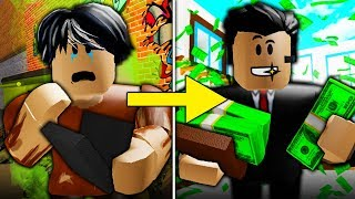 Poor To Rich Part 7: The New Employee ( A Sad Roblox Bloxburg Movie)