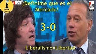 ¡Javier Milei Le Enseña A Sergio Berni Que Es El Liberalismo!