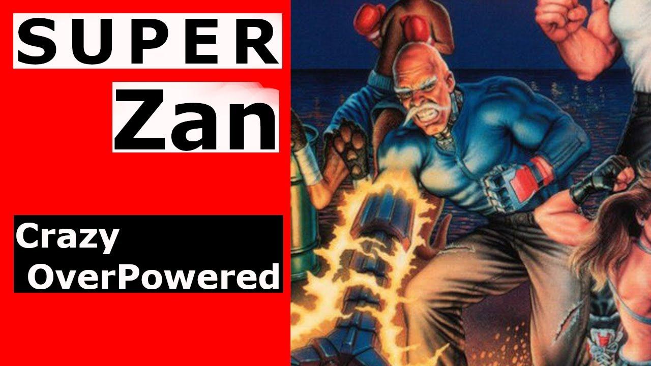 """Streets of Rage 3 – Select Zan"" T-shirt by PonchTheOwl ... |Streets Of Rage 3 Zan"