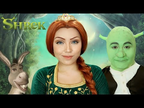 SHREK 'Princess Fiona' Makeup Tutorial !!!