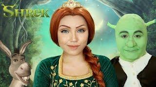 SHREK 'Princess Fiona' Makeup Tutorial !!!