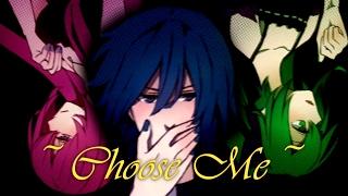 Gambar cover 【Luka→ Kaito ← Miku 】Choose Me【VOCALOID4 カバー】 (FanMade PV)
