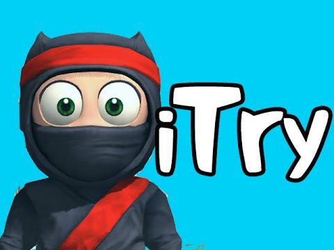 iTry - Clumsy Ninja - Facepalm!
