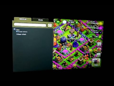clash of clans-how to clear chat in global and your clan