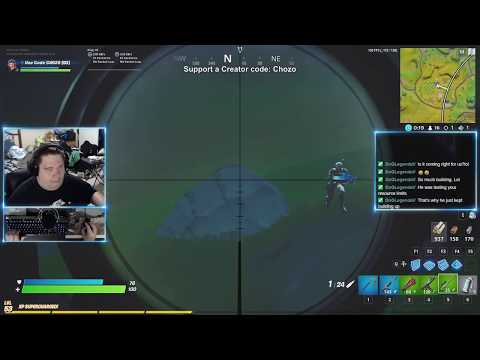 Sexy Mid Air Sniper Hit - #Fortnite