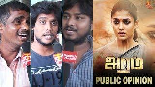 Aramm Public Opinion | Nayanthara | Gopi Nainar | Ghibran | Latest Movie Review | Thamizh Padam