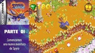 Spyro Season of Ice (GBA) (Español) (100%) - Parte 01: Comenzamos una nueva aventura de Spyro