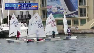 Bermuda 2019 RenaissanceRe Junior Gold Cup Sailors Heading Out