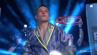 Insane atmosphere! Josh Warrington's full walkout vs Sofiane Takoucht in Leeds