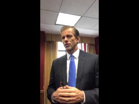 John Thune Meerkat interview