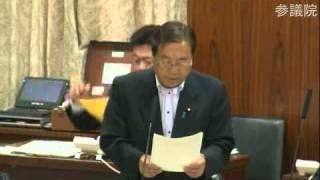 2013/06/13 参議院 総務委員会 民主党 加賀谷健の付帯決議案説明