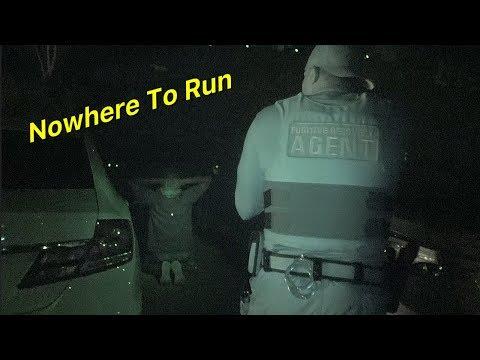 Fugitive Goes Night Night