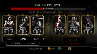 Mortal Kombat X Android Shao Kahn's Tower Fight 36 - 44
