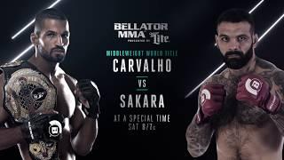 Bellator 190: Rafael Carvalho vs. Alessio Sakara - SATURDAY, DEC 9th